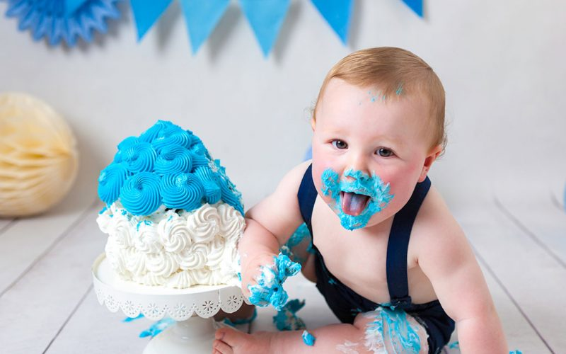 Cake Smash Glasgow | How to Celebrate Baby's First Birthday